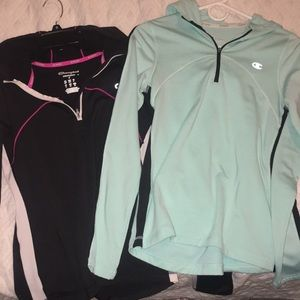 Workout pullovers